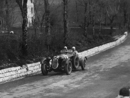 Sobre la 2900 A en las Mille Miglia Italianas.