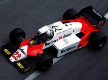 Andrea de Cesaris, Alfa Romeo, MOnaco Grand Prix, 1983