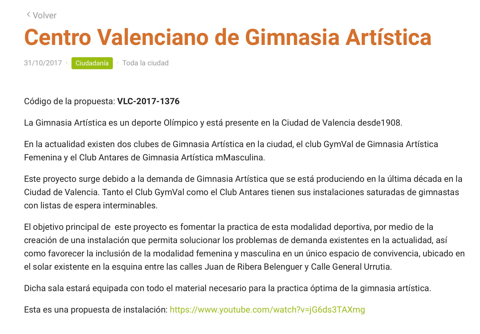 Club antares valencia gimnasia art stica for Gimnasia concepto