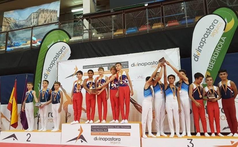 Club Antares Valencia vuelve a dejar a la gimnasia artística de la ciudad en lo más alto