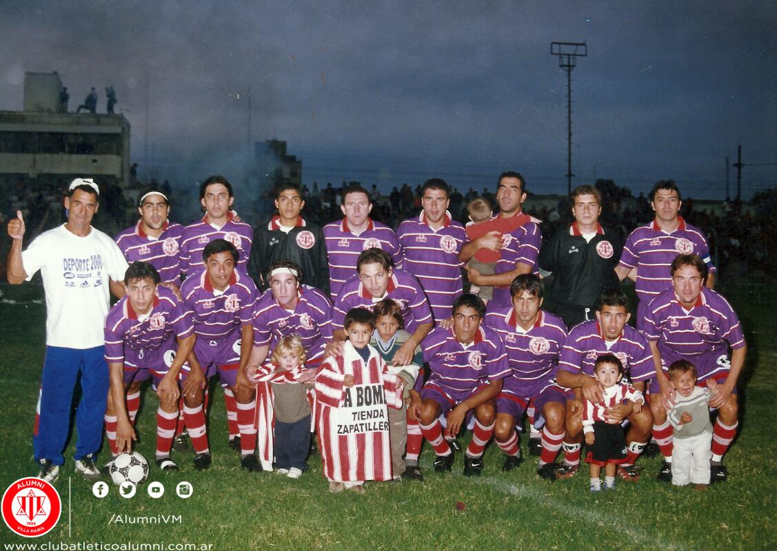 Alumni Campeón Interligas 2001