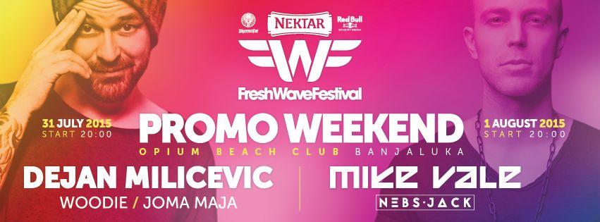 FWF promo vikend
