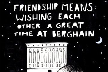 Ilustrovani vodič za Berghain