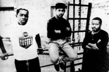 Juan Atkins, Kevin Saundeson i Derrick May u dokumentarcu iz 1996. godine