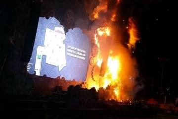 Požar na Tomorrowland Unite festivalu