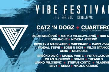 Sutra počinje Vibe Festival