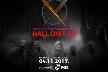 """The Night Of The Walking Dead"" 4. novembra u Hangaru"