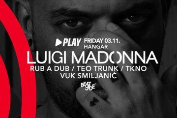 Vodimo vas na Drumcode žurku u Hangaru na kojoj nastupa Luigi Madonna