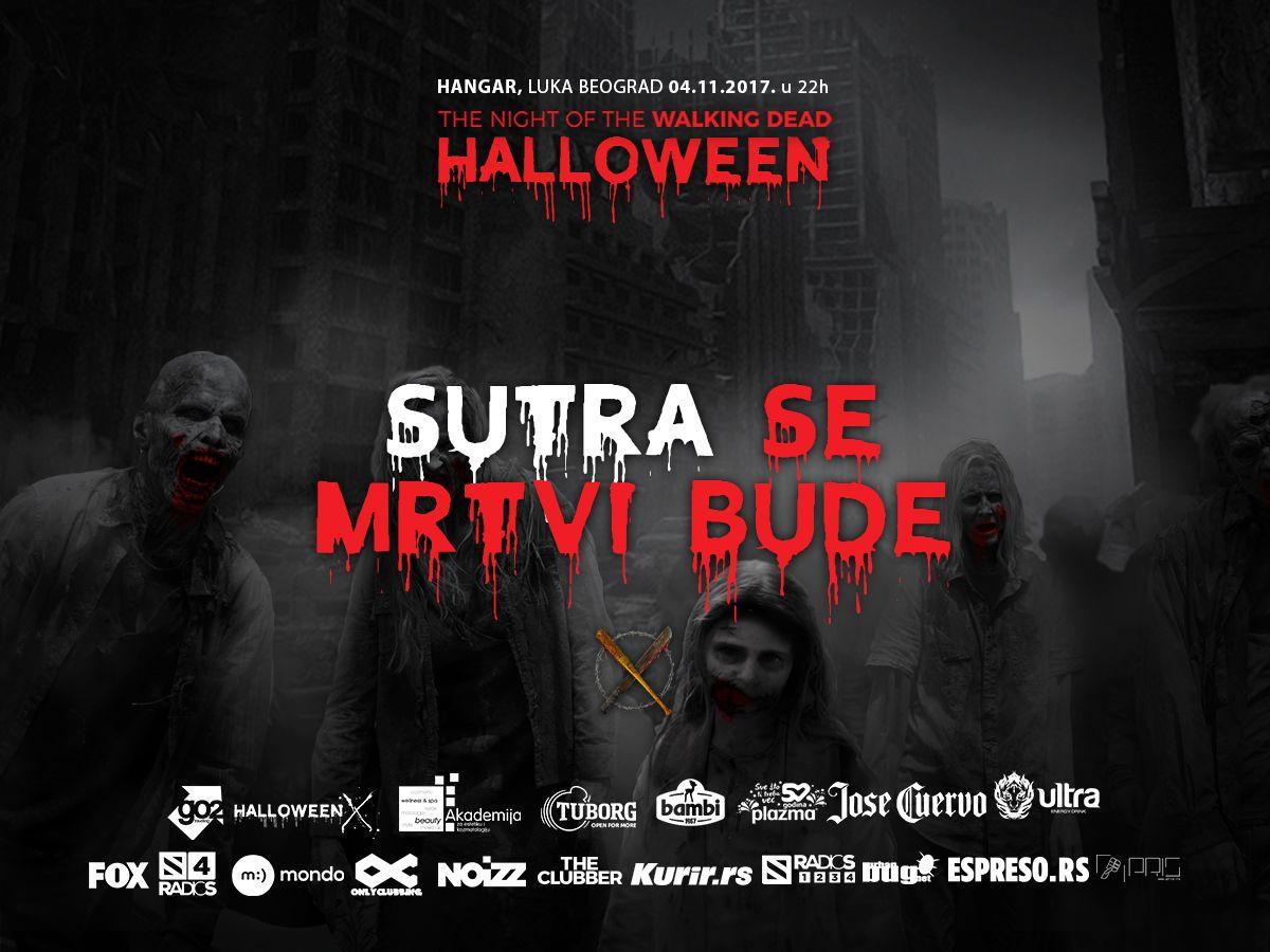 Vodimo vas na Halloween maskenbal u Hangaru
