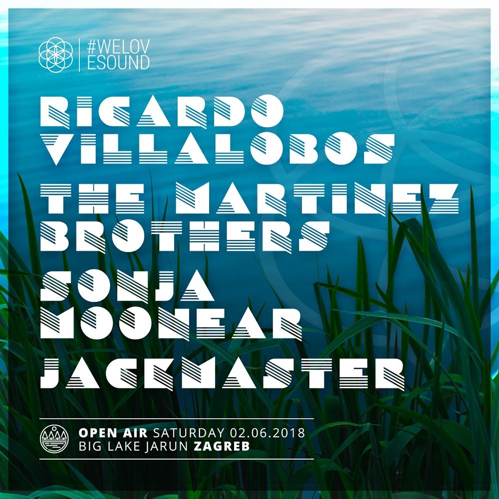 The Martinez Brothers, Ricardo Villalobos i mnogi drugi stižu na #WELOVESOUND festival