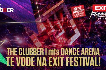The Clubber i Dance Arena te vode na Exit Festival