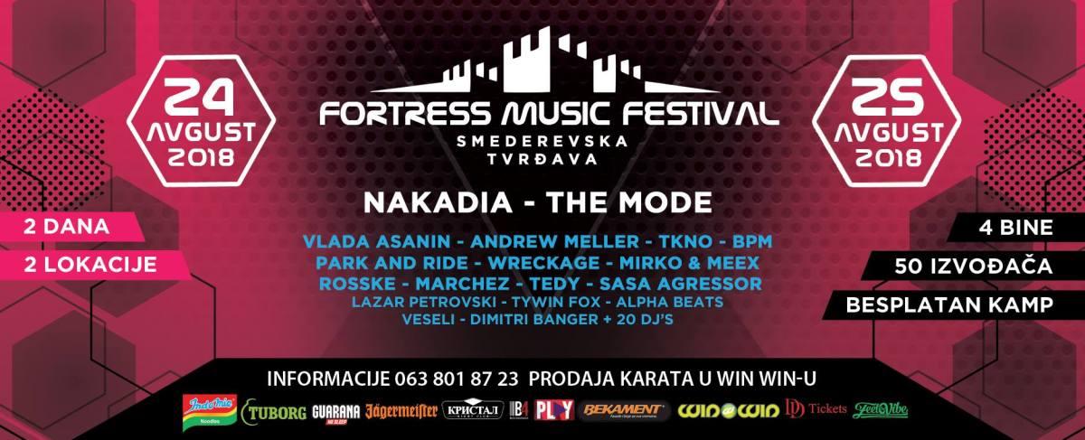 Druga faza prodaje ulaznica za Fortress Music Festival traje do 15. jula
