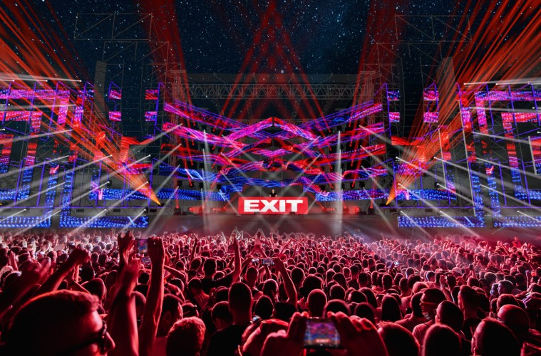 EXIT otkrio novi, još spektakularniji izgled glavnih bina!