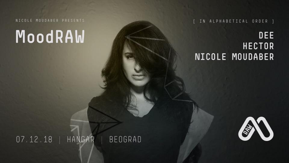 MoodRAW: Nicole Moudaber, Hector & Dee 7. decembra u Hangaru