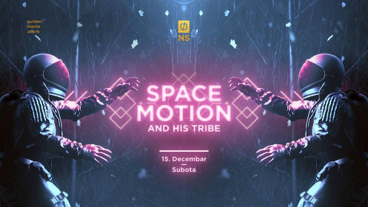 Space Motion predstavlja Tribe ove subote u Kafematu