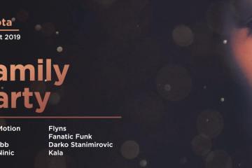 Family Party večeras u Kafematu