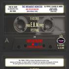 Noche E.B.M. en Barcelona: Los horarios