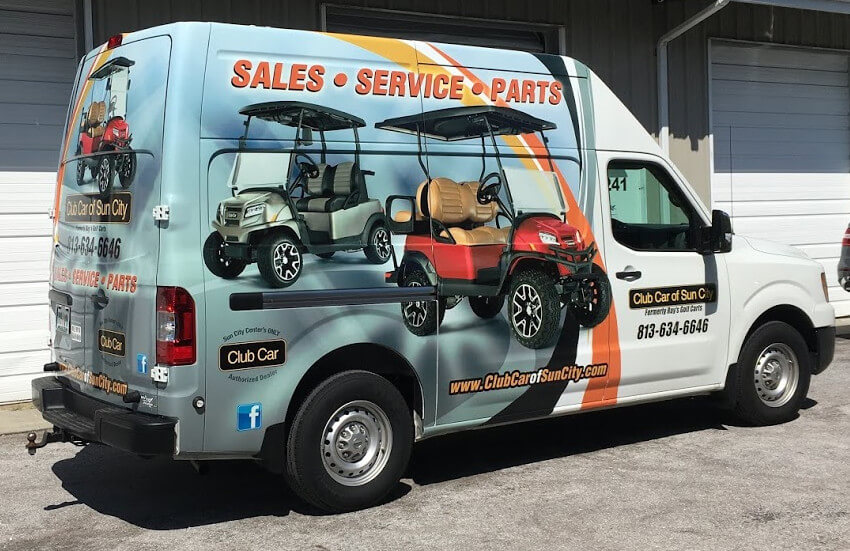 ccosc van - Service and repair