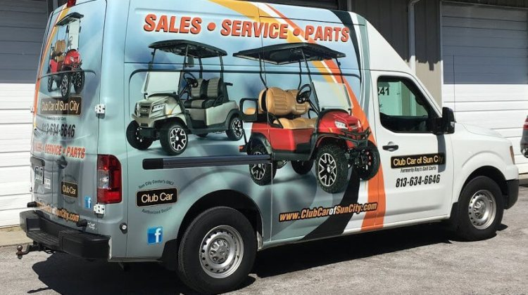 ccosc van - Service and repair