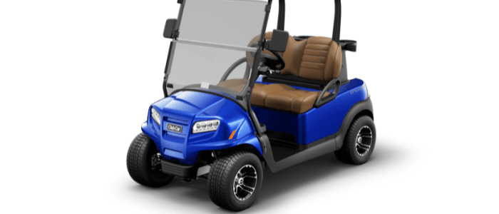 onward 2 pass black upg blue front 700x300 - Club Car Onward
