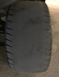 tire overinflated - FAQ - Maintenance Help