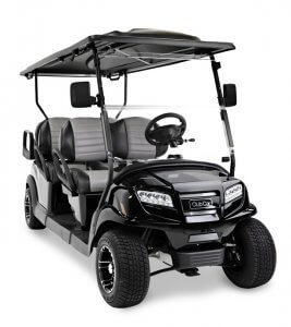6 passenger Onward studio 615x690 1 267x300 - Club Car Onward - 6 Passenger