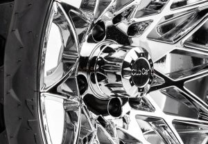 Athena 14 inch wheels chrome close up 600x415 1 300x208 - ATHENA WHEELS