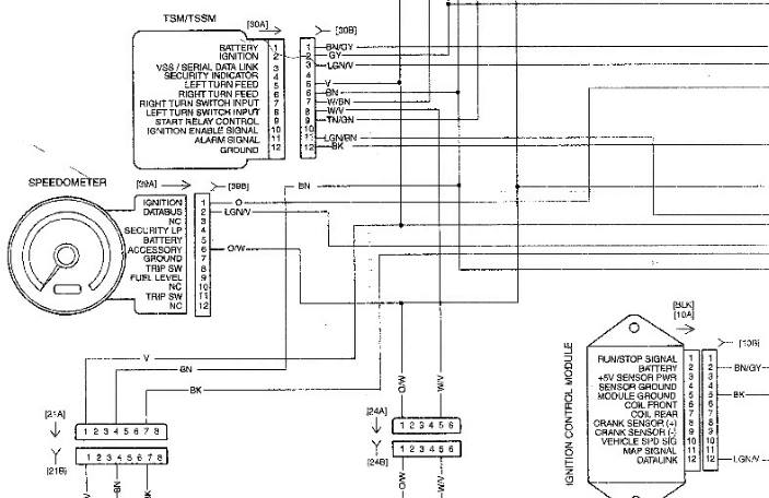Sportster Speedometer Wiring Diagram 04 Wiring Diagram For