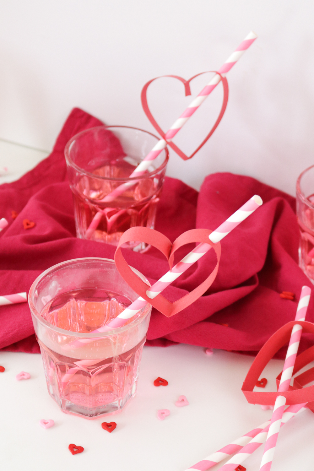 DIY Heart Straws For Valentines Day Club Crafted
