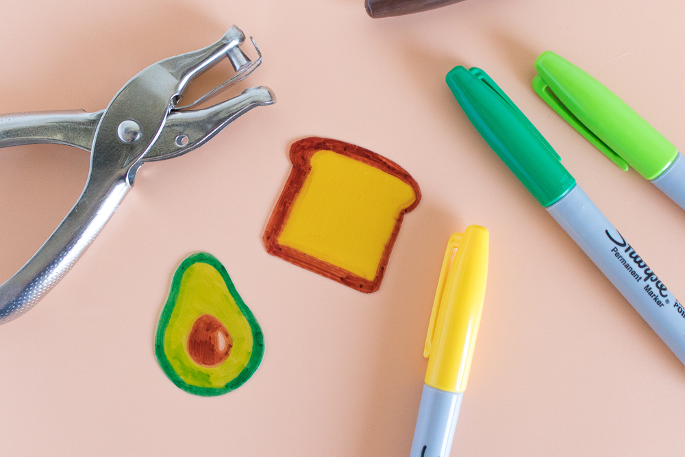 DIY Avocado Toast Earrings   Club Crafted