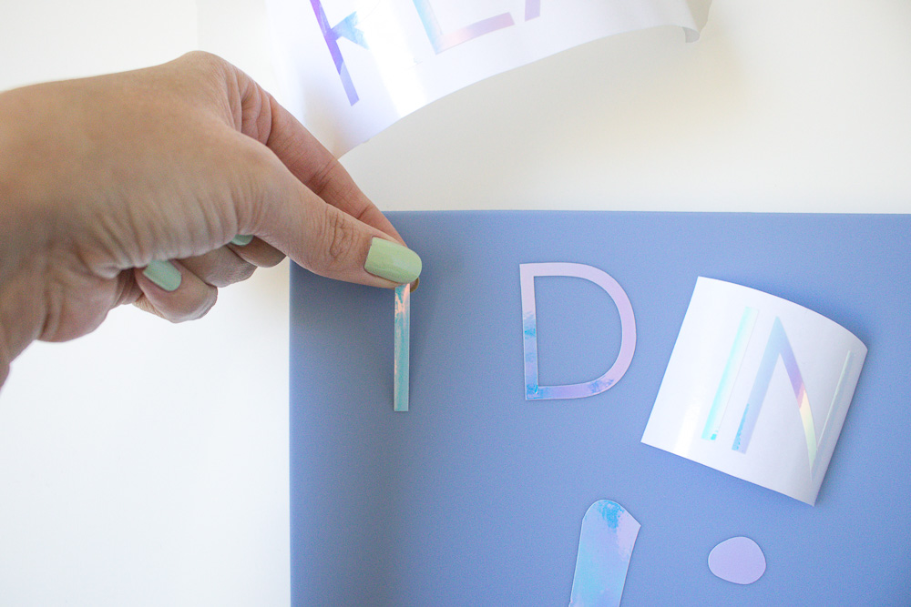DIY Holographic Laptop Case | Club Crafted