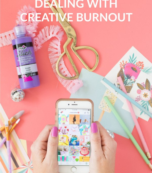 Real Talk: Dealing with Creative Burnout | Club Crafted