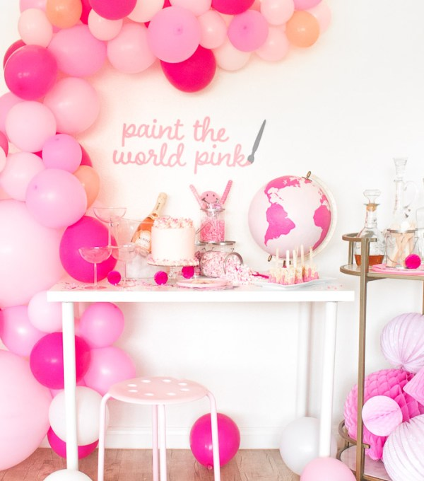 Paint the World Pink Party | Club Crafted