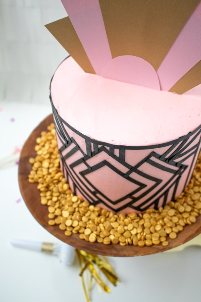 Art Deco Cake | Club Crafted