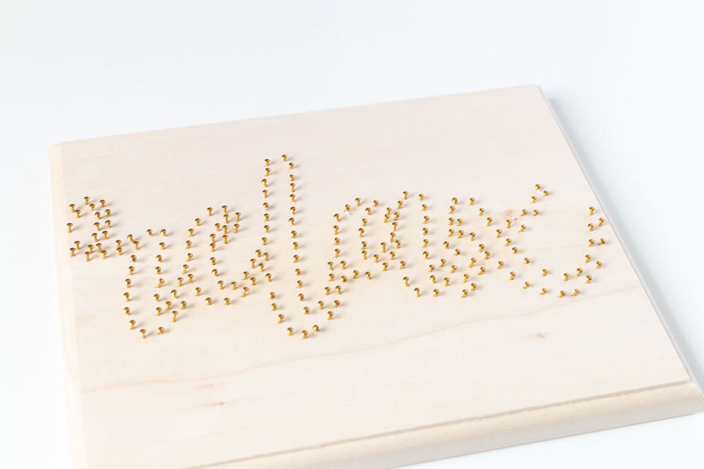 nails template for easy string art how-to