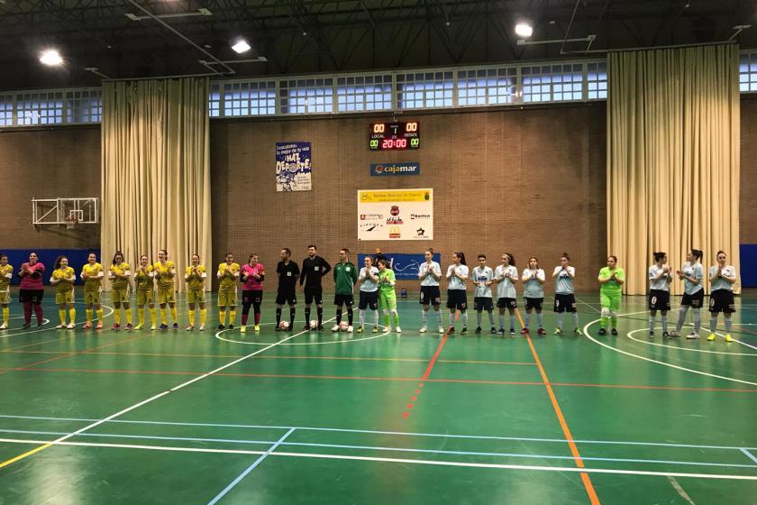 Futsal femenino CD El Ejido-Alcantarilla
