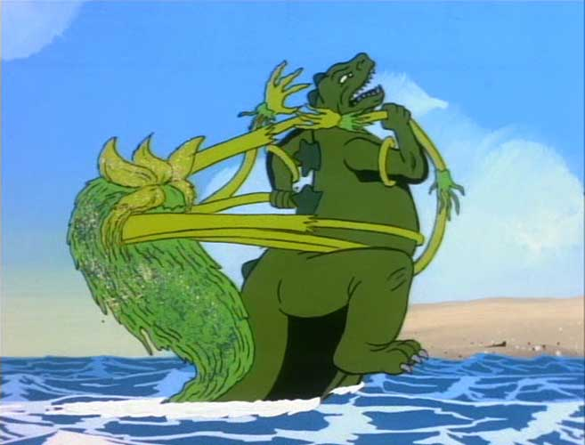 Seaweed Monster Godzilla