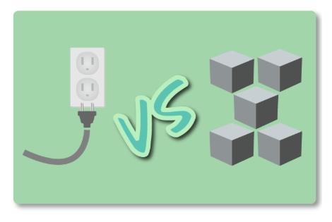 API vs Microservicios