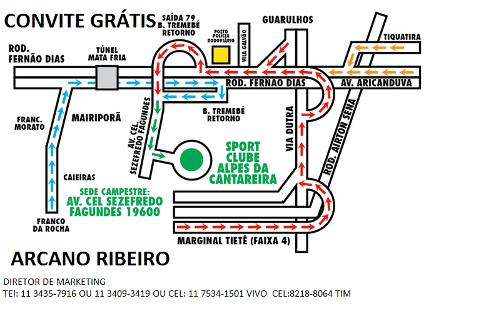 CLUBE ALPES DA CANTAREIRA-MAPA