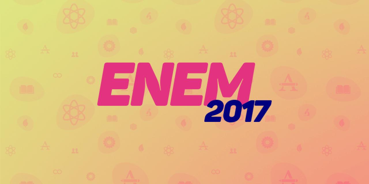 Gabaritos oficiais do Enem 2017 já estão disponíveis