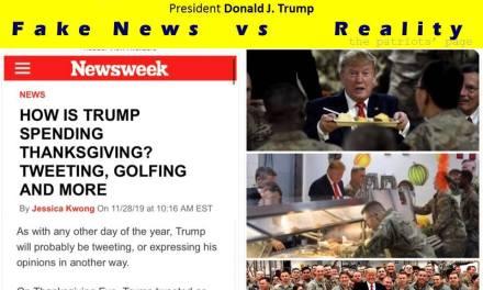 Thanksgiving de Trump é Fantasy News