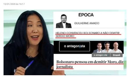 Jornais sem Fatos contra Bolsonaro