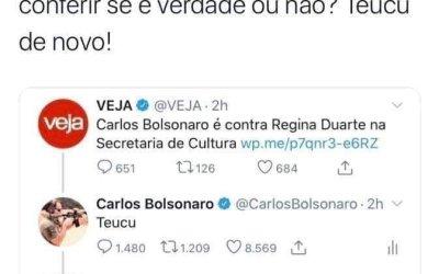 O caso Carlos Bolsonaro e a Revista Veja