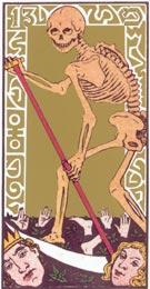 A Morte, no Tarot de Oswald Wirth