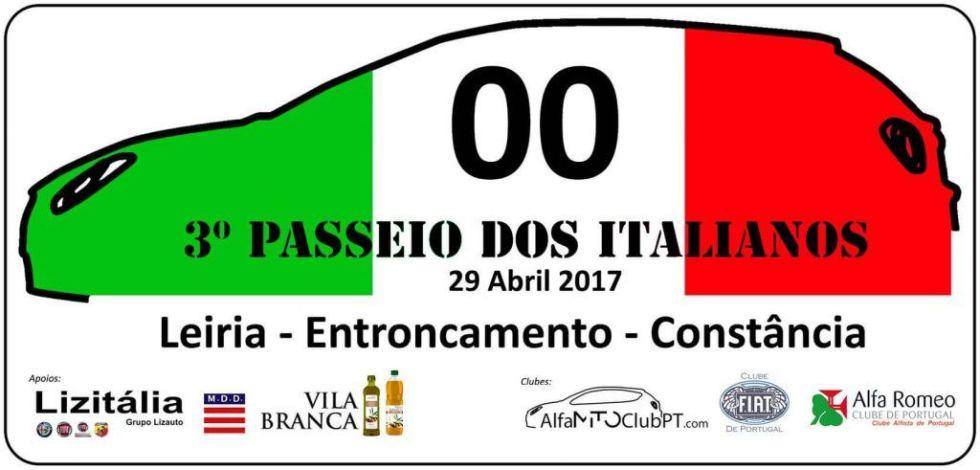 3º Passeio Dos Italianos – 29 De Abril