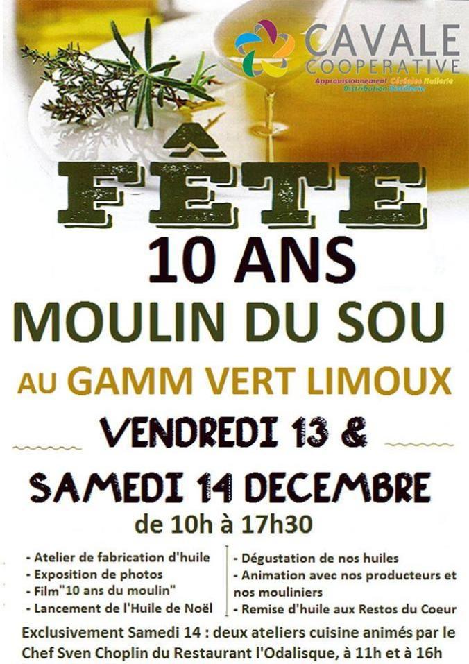 moulin de sou à Limoux
