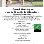 06/08/2018 : Speed meeting à Saint-Martin de Villeréglan
