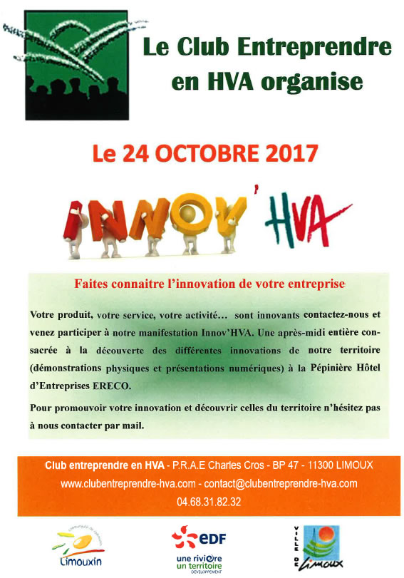 Innovation haute-vallée de l'Aude