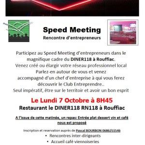 07/10/2019 : Speed meeting à Rouffiac d'Aude