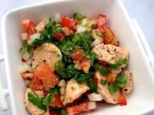 Salada de Ovas de Bacalhau